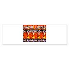 Warhol Psychedelic Bumper Sticker
