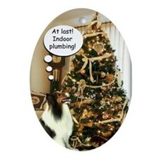 Sheltie Xmas Fun Ornament