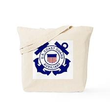 coastguardauxiliarylogo.gif Tote Bag