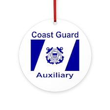 coastguardauxiliaryteeshirt2.gif Round Ornament