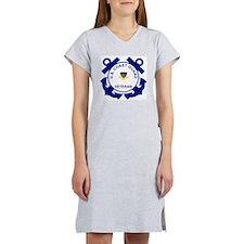 coastguardveteranpo2.gif Women's Nightshirt