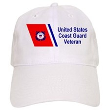 coastguardveteranracingstripebumpersticker.gif Baseball Cap