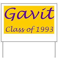 Gavit1993BandedAthleticShirt2.gif Yard Sign