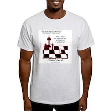 Opening Salvo Ash Grey T-Shirt