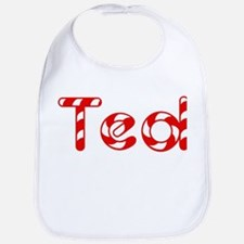 Ted - Candy Cane Bib