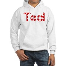 Ted - Candy Cane Hoodie