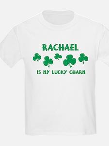 Rachael is my lucky charm Kids T-Shirt