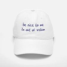 Valium Baseball Baseball Cap