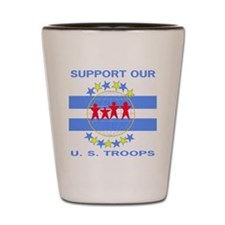 usafsupportourtroops.gif Shot Glass