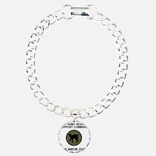 ArmyReserve81stRSCTeeshi Charm Bracelet, One Charm