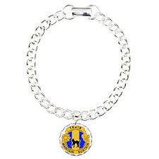 armyreservecrest81strsc. Charm Bracelet, One Charm