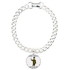 ArmyReserveIWentPostalOn Charm Bracelet, One Charm