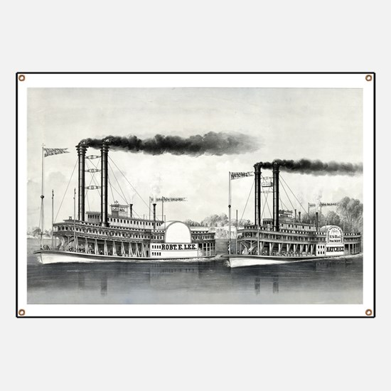 The great race on the Mississippi from New Orleans