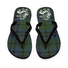 Marshall Tartan Unicorn Flip Flops