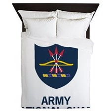 ArmyNationalGuardNorthDakotaTeeShirt.g Queen Duvet