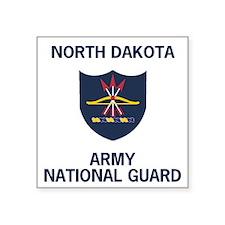 "ArmyNationalGuardNorthDakot Square Sticker 3"" x 3"""