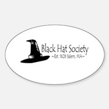 Black Hat Society Decal