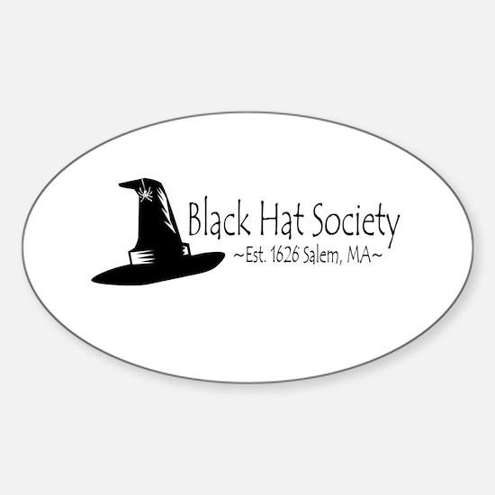 Black Hat Society Decal