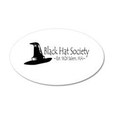 Black Hat Society Wall Decal
