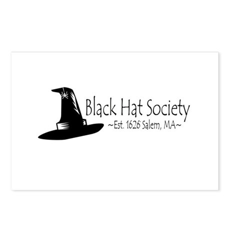 Black Hat Society Postcards (Package of 8)