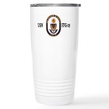 NavyUSSStephenWGrovesCap.gif Travel Mug