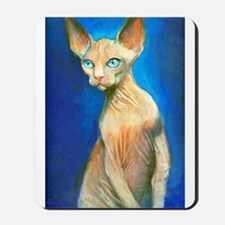 Sphynx cat 15  Mousepad