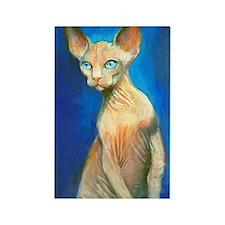 Sphynx cat 15 Rectangle Magnet