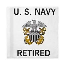 NavyRetiredOfficerShirt.gif Queen Duvet