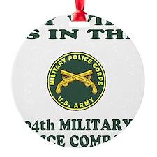USAR-94thMPCoMyWife.gif Ornament
