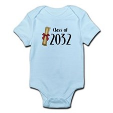 Class of 2032 Diploma Infant Bodysuit