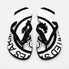 ArmyLogoBlackAndSilver.gif Flip Flops