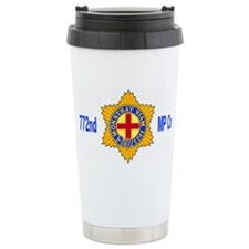 ARNG-772ndMPCoBlueCap.gif Travel Mug