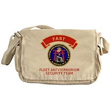 USMC4thMEBFASTTeeshirtGif8.gif Messenger Bag