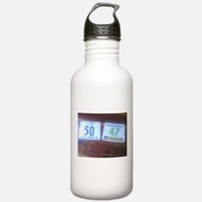 No More Excuses Running Water Bottle