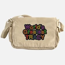 Worlds Greatest Tracy Messenger Bag
