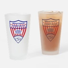 AFGELogoShieldGifB.gif Drinking Glass