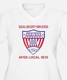 AFGE-Local3610Red T-Shirt