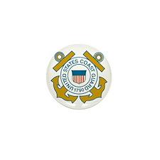 USCGSealDennis.gif Mini Button