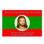 Jesus Reason Postcards (Package of 8)