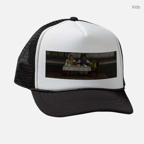 Three Bears Kids Trucker hat