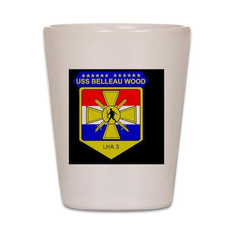 NavyUSSBelleauWoodBlackCap3.gif Shot Glass