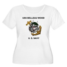 NavyUSSBellea T-Shirt
