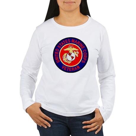 USMCVeteranSealGifB.gi Women's Long Sleeve T-Shirt