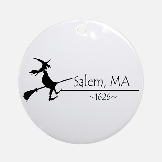 Salem, MA 1626 Ornament (Round)