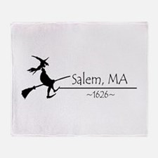 Salem, MA 1626 Throw Blanket