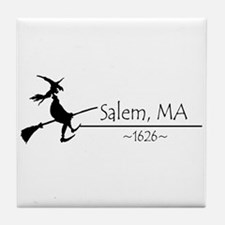 Salem, MA 1626 Tile Coaster