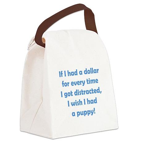 If I had a Dollar Canvas Lunch Bag