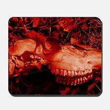 Red Skull Mousepad