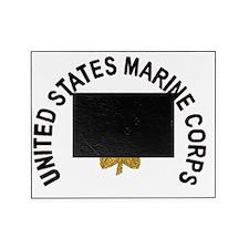 USMCMajorWhiteCap.gif Picture Frame