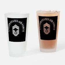 USAFChiefMasterSergeantBlackCap.gif Drinking Glass